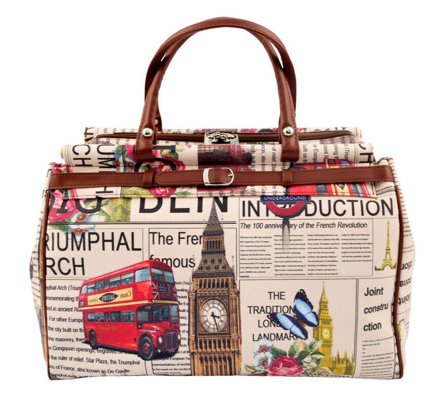 Магазин сумок Borgo Antico Женская дорожная сумка 135 - фото 1