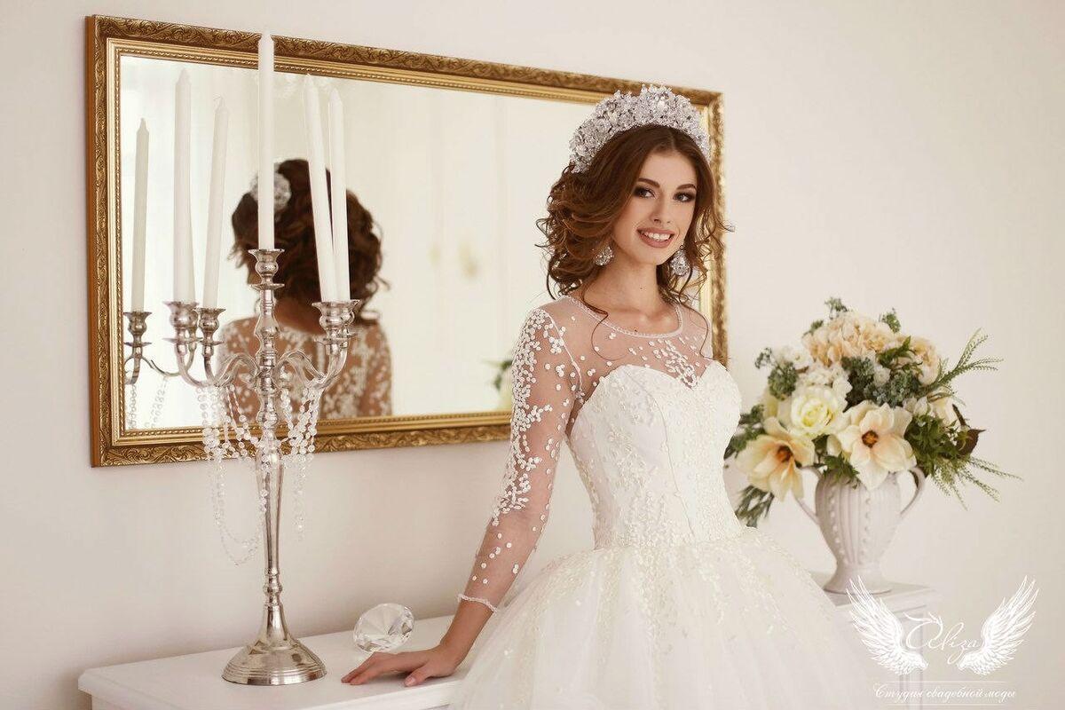 Свадебное платье напрокат ALIZA Свадебное платье «Konfetti» - фото 5