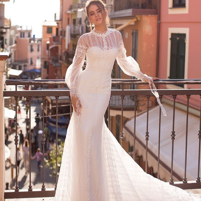 Свадебный салон Ange Etoiles Платье свадебное Ali Damore  Ida - фото 1