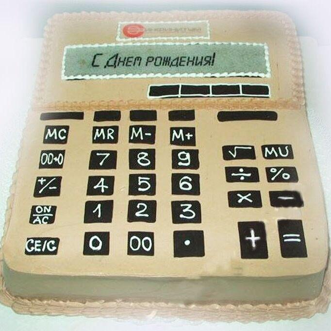 Торт Tortas Торт «Калькулятор» - фото 1