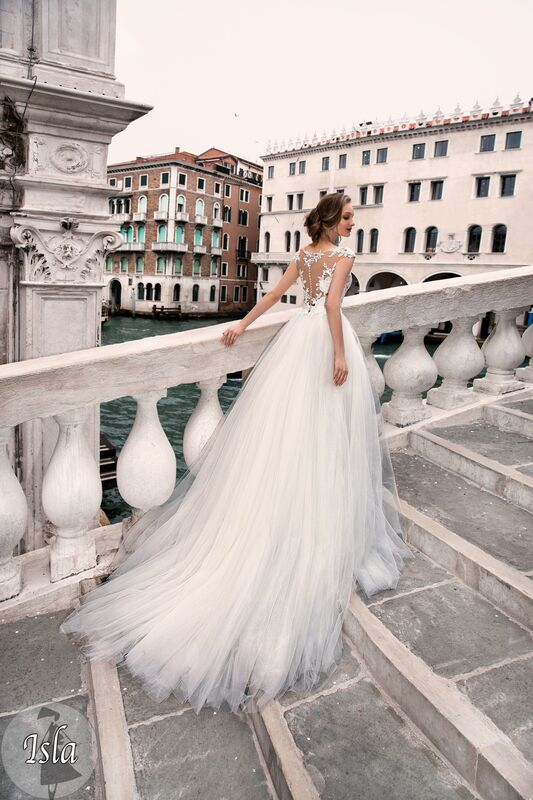 Свадебное платье напрокат Bonjour Платье свадебное «Isla» из коллекции LE DELICE 2018 - фото 3