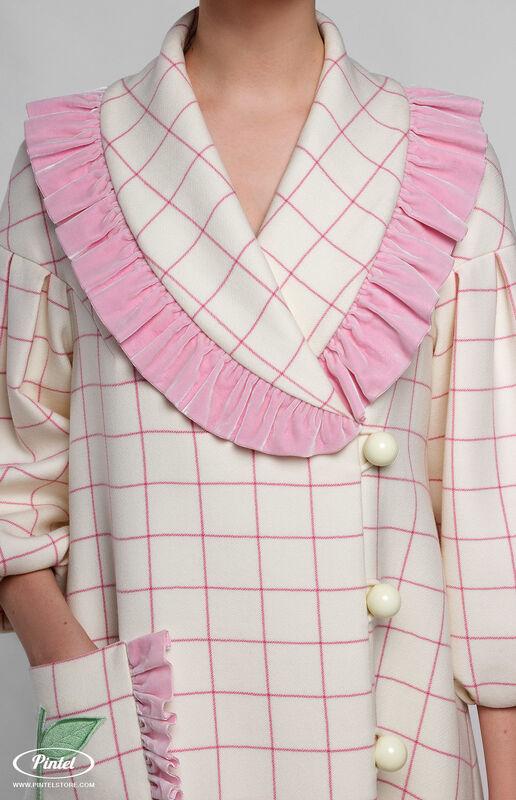 Верхняя одежда женская Pintel™ Пальто силуэта «Трапеция» Freja - фото 4