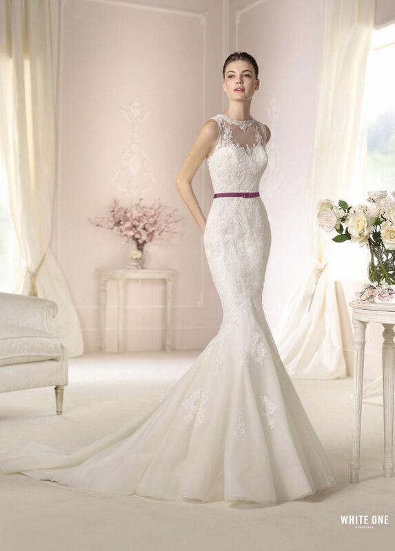 Свадебное платье напрокат White One (Pronovias) Платье свадебное «Damara» - фото 1