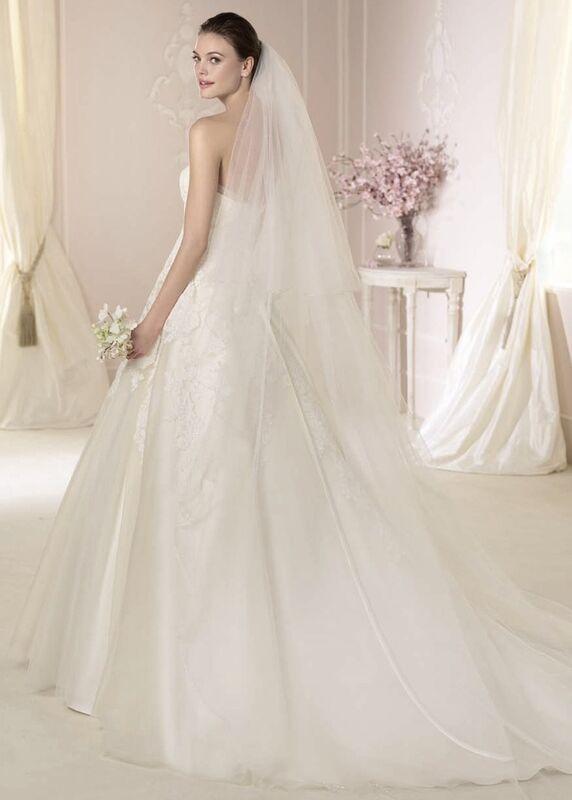 Свадебное платье напрокат White One (Pronovias) Платье свадебное «Danit» - фото 2