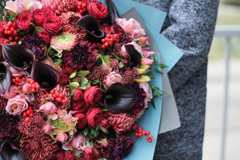 Магазин цветов Cvetok.by Букет «Фламенко» - фото 2