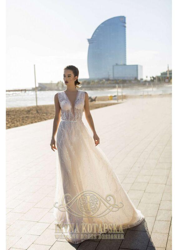 Свадебное платье напрокат Lavender Свадебное платье Dominika - фото 2