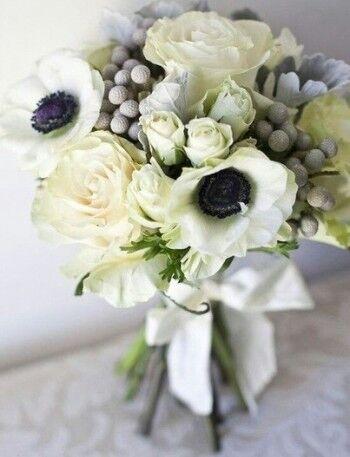 Магазин цветов Ветка сакуры Свадебный букет № 7 - фото 1