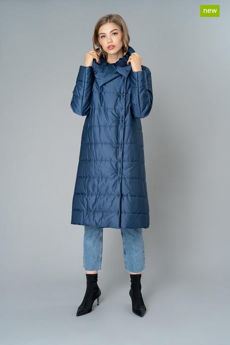 Верхняя одежда женская Elema Пальто женское плащевое утепленное 5-9133-1 - фото 1