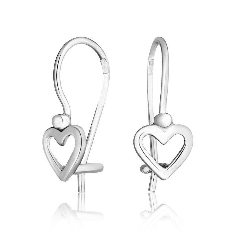 Ювелирный салон Jeweller Karat Серьги серебряные арт. 2021452/9 - фото 1