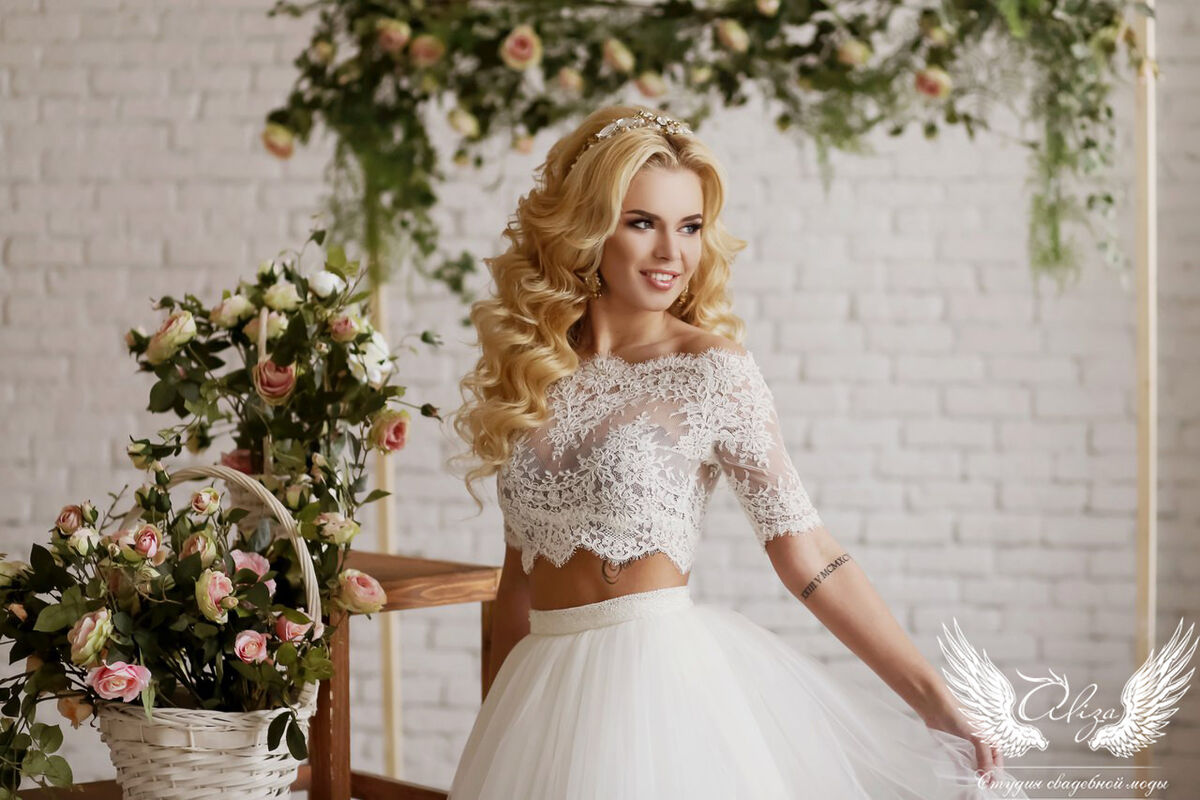 Свадебный салон ALIZA Свадебное платье «Emmira» Soffito - фото 7