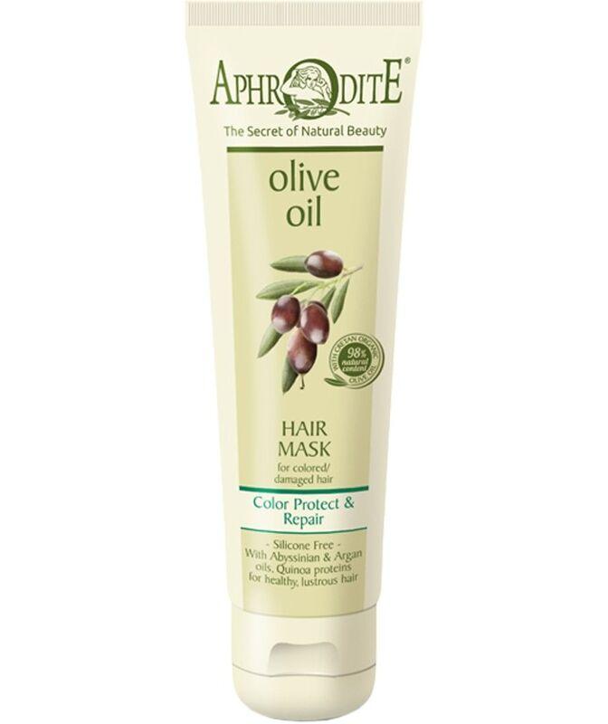 Уход за волосами Aphrodite Маска для волос «Защита цвета и восстановление»  150 мл - фото 1