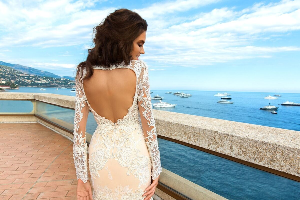 Свадебное платье напрокат Crystal Свадебное платье Rian - фото 4