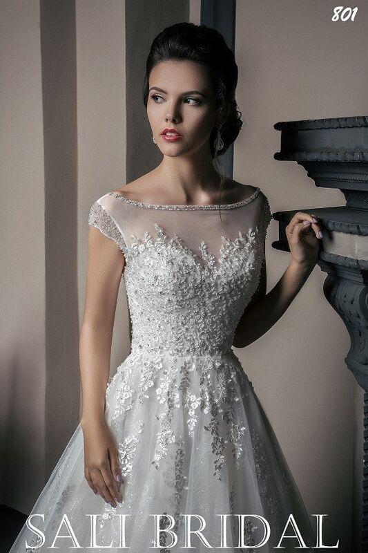 Свадебный салон Sali Bridal Свадебное платье 803 - фото 2