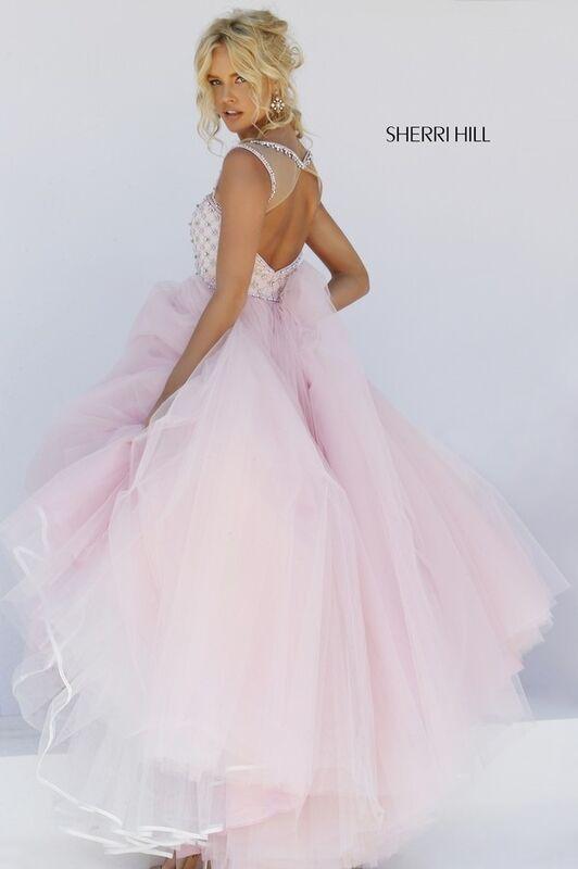 Свадебное платье напрокат Sherri Hill Платье свадебное 50008 - фото 8