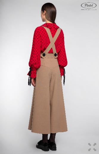 Костюм женский Pintel™ Комплект из блузы и брюк Manolis - фото 2