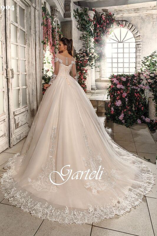 Свадебный салон Garteli Свадебное платье 904 (коллекция 2019) - фото 2