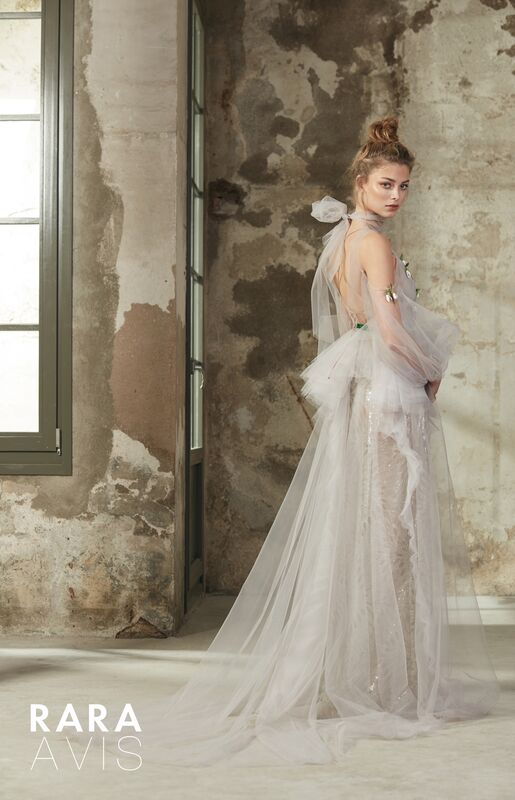 Свадебный салон Rara Avis Свадебное платье Floral Paradise  Riki - фото 2