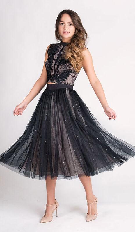 Вечернее платье Coast Кружевной топ и юбка 578 - фото 1