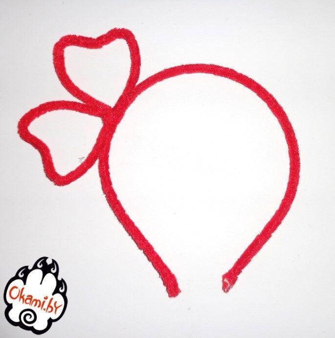 Подарок Оками «Бантик» красный - фото 1