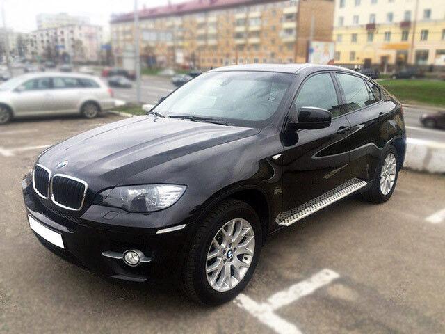Прокат авто BMW X6 черный 3.5 л - фото 1
