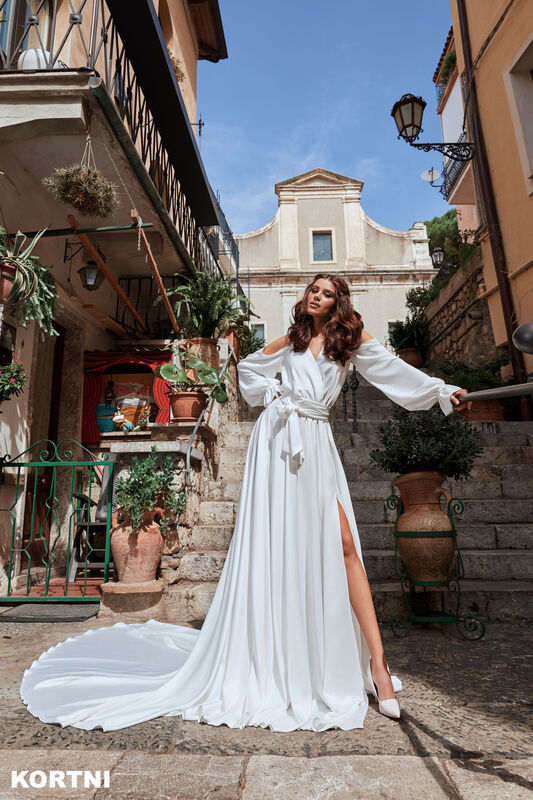 Свадебный салон Bonjour Galerie Платье свадебное KORTNI из коллекции BELLA SICILIA - фото 1