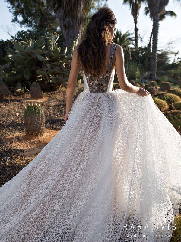 Свадебное платье напрокат Rara Avis Свадебное платье Wild Soul Aviv - фото 6
