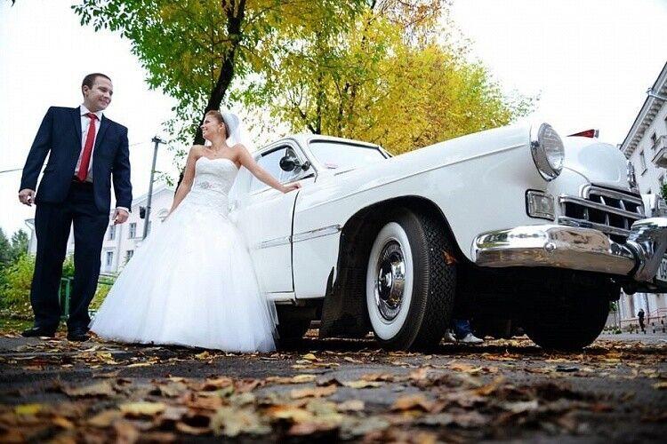 Прокат авто ГАЗ 12 ЗИМ белый - фото 2