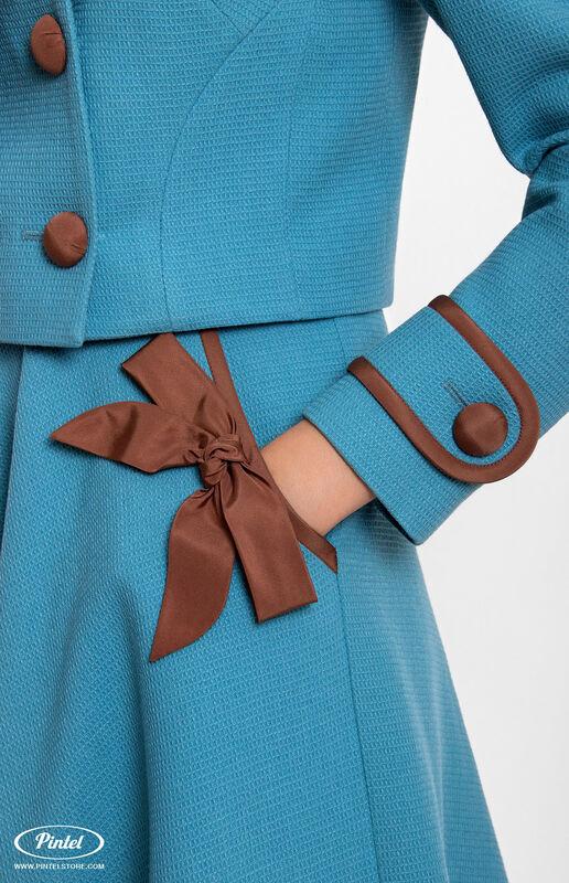 Костюм женский Pintel™ Костюм из натуральной шерсти Jórunn B - фото 2