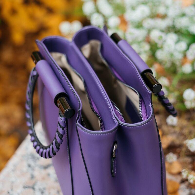 Магазин сумок Vezze Кожаная женская сумка C00554 - фото 3