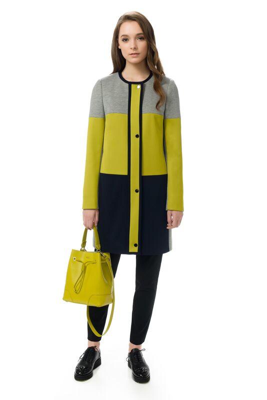 Верхняя одежда женская Elema Пальто женское демисезонное Т-7057 - фото 1