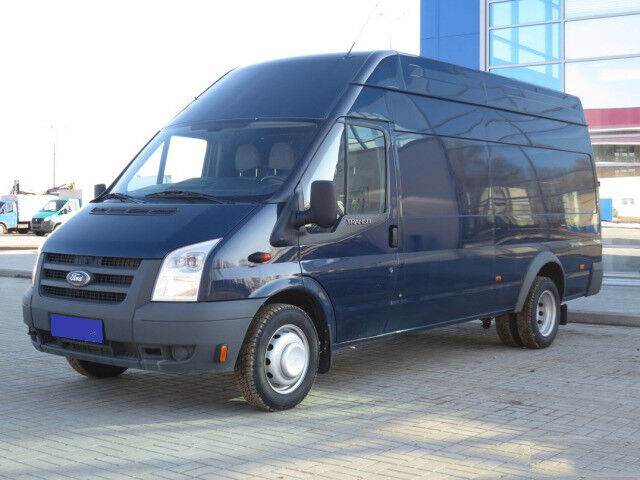 Аренда авто Ford Transit Jumbo Van 2012 г.в. - фото 1