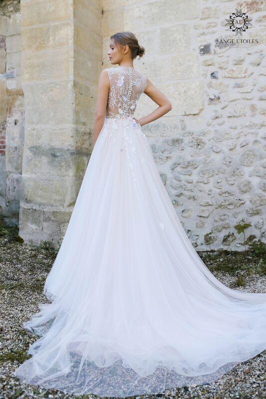 Свадебное платье напрокат Ange Etoiles Платье свадебное AEriality Collection  Shana - фото 2