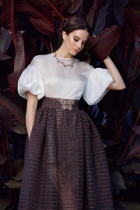 Свадебное платье напрокат Edelweis Платье свадебное «Fulvia» - фото 2