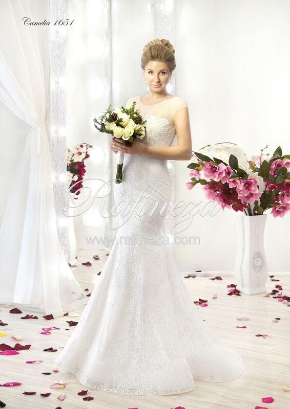 Свадебное платье напрокат Rafineza Свадебное платье Camelia - фото 1