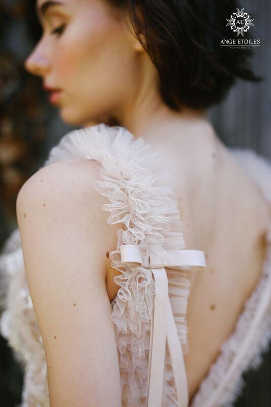 Свадебное платье напрокат Ange Etoiles Платье свадебное AEriality Collection Fern - фото 2
