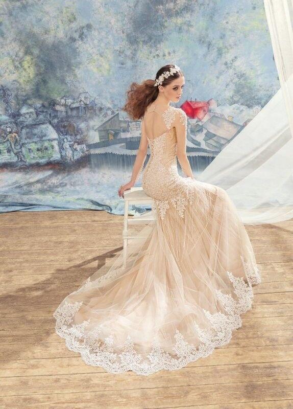 Свадебный салон Papilio Свадебное платье «Квезаль» 1704L - фото 3