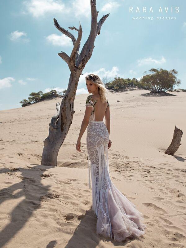 Свадебный салон Rara Avis Платье свадебное Wild Soul Tirion - фото 3