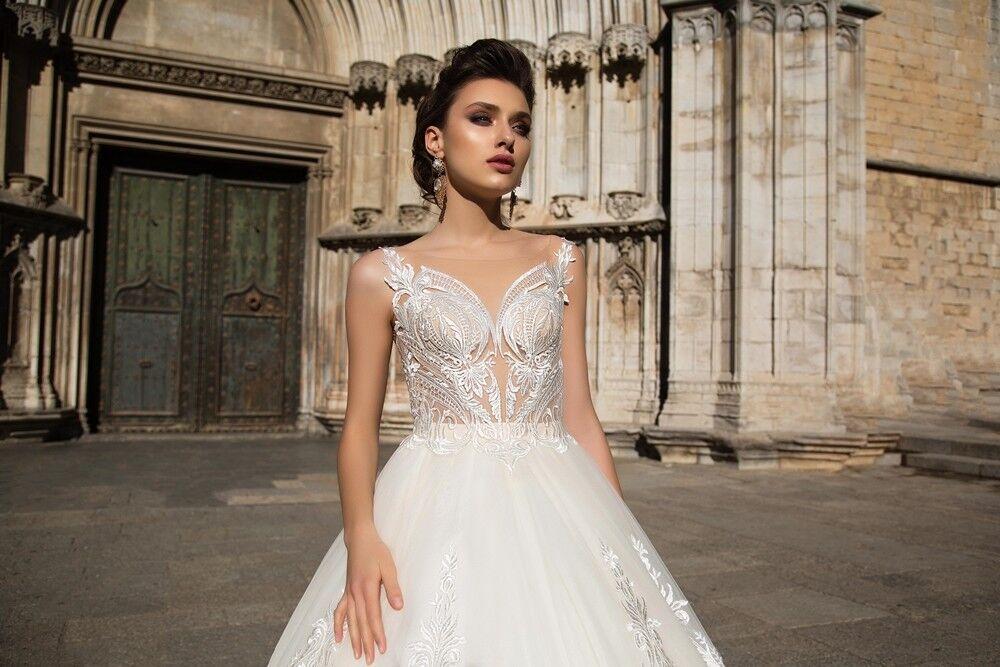 Свадебный салон Bonjour Galerie Свадебное платье «Calypso» из коллекции LA SENSUALITE - фото 2