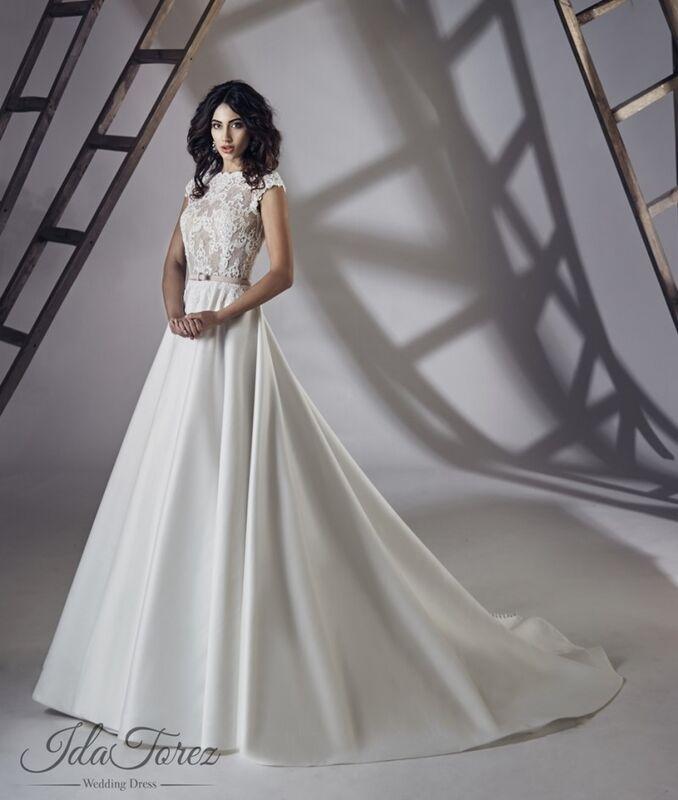 Свадебное платье напрокат Ida Torez Свадебное платье Traza - фото 1