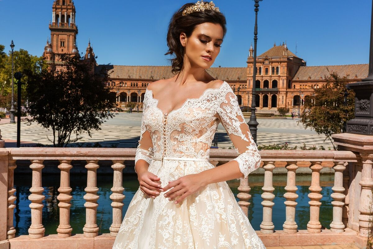 Свадебное платье напрокат Crystal Свадебное платье Amelia - фото 3