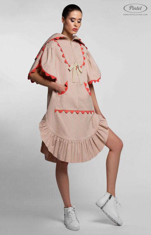 Платье женское Pintel™ Спортивное платье свободного силуэта FONG - фото 5