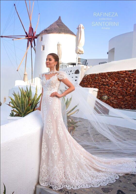 Свадебный салон Rafineza Свадебное платье Amalia напрокат - фото 1