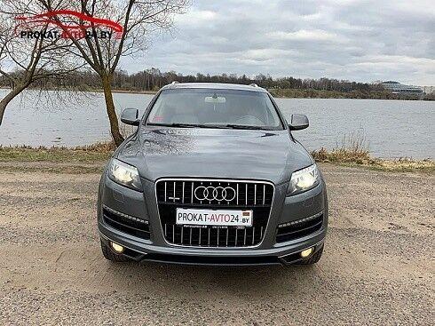 Прокат авто Audi Q7 2012 серый - фото 4