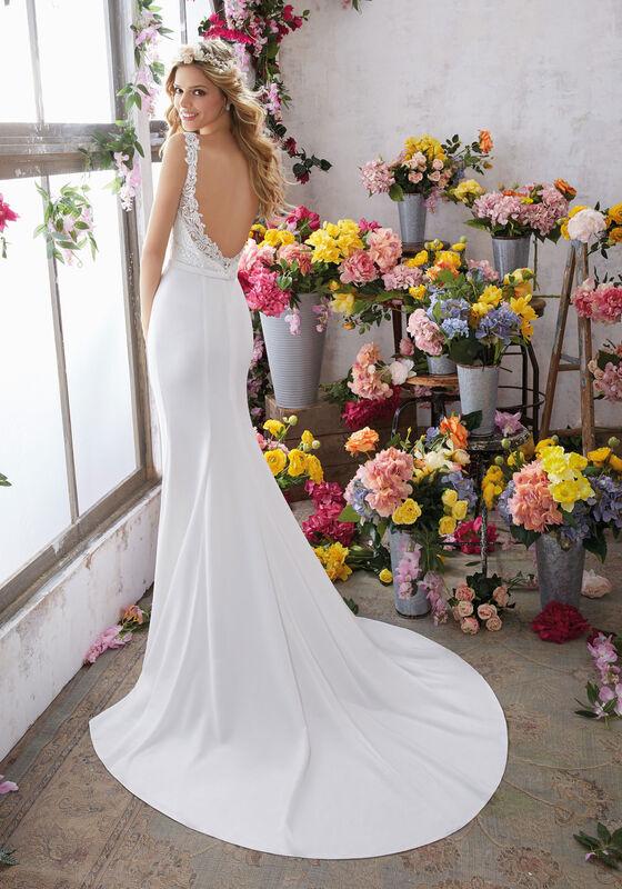 Свадебное платье напрокат Mori Lee Свадебное платье 6853 - фото 4