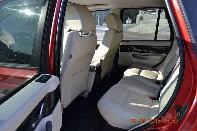Прокат авто Range Rover Sport бордового цвета - фото 4