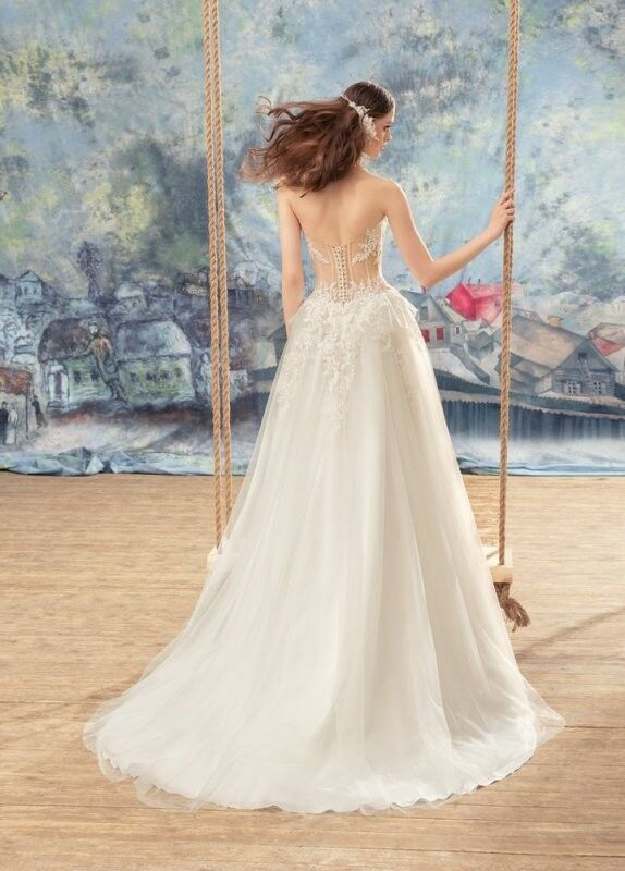 Свадебный салон Papilio Свадебное платье «Мизомела» 1737L - фото 2
