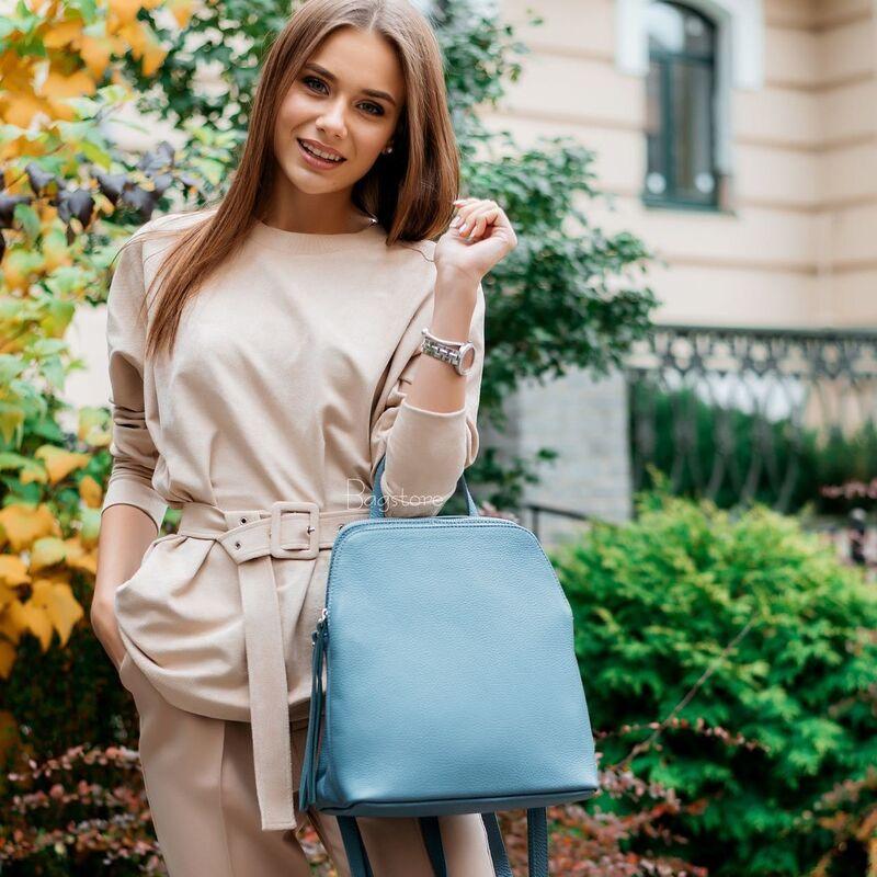Магазин сумок Vezze Кожаный женский рюкзак C00546 - фото 1
