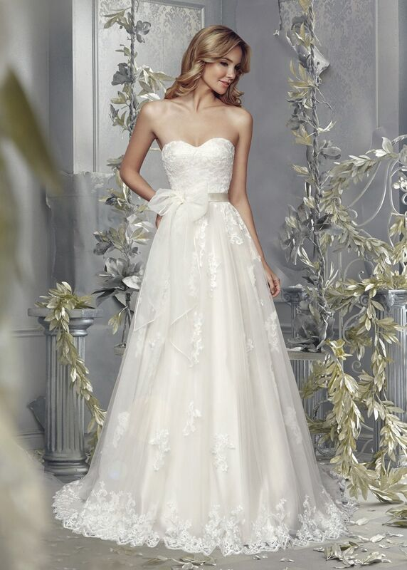 Свадебное платье напрокат Mia Solano Платье свадебное «Bellerose» - фото 1
