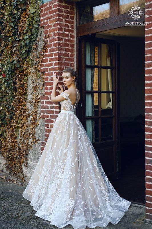 Свадебный салон Ange Etoiles Свадебное платье AEriality Collection  Etel - фото 3