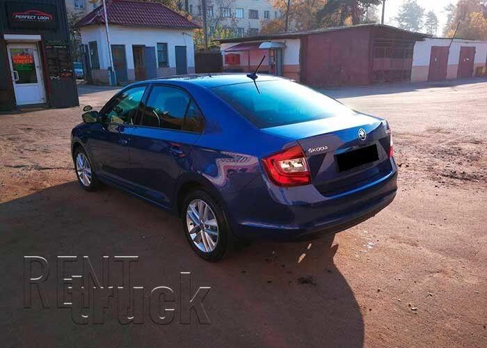 Прокат авто SKODA Rapid 2018 г.в. - фото 5